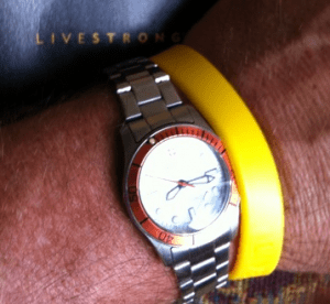doing dad's day with livestrong