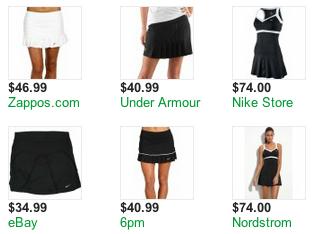 Losing my little black tennis skirt fantasy