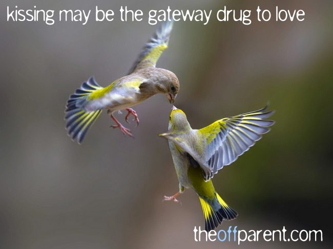 kissing, the gateway drug