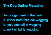 Dog Metaphor for Dating