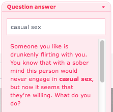 searching for casual sex